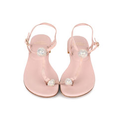 Ballsoffire Crystal T-strap Sandals