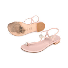 Stuart weitzman ballsoffire crystal t strap sandals 2?1519899540