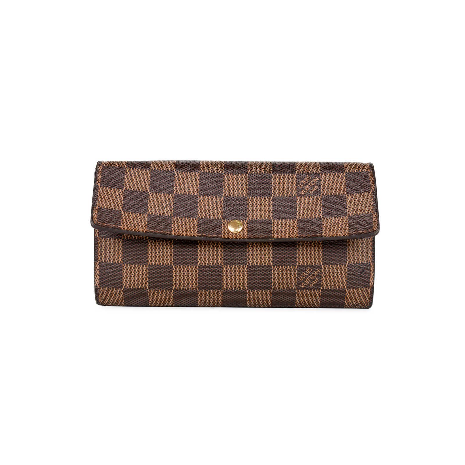 b4086a2ff361 Authentic Second Hand Louis Vuitton Sarah Wallet (PSS-375-00028) -  Thumbnail ...