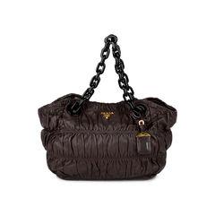 Nappa Gaufre Shoulder Bag