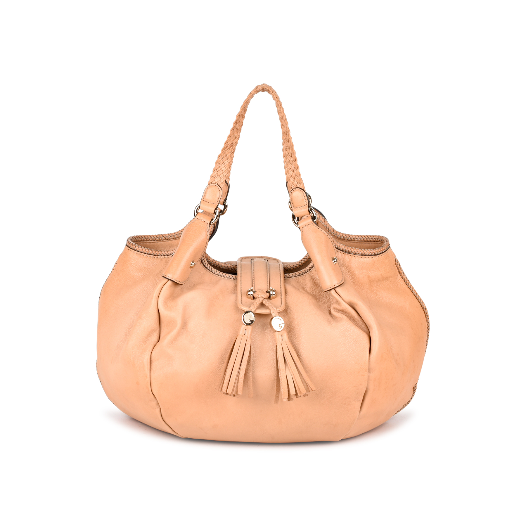 3caeaf790b11 Authentic Second Hand Gucci Marrakech Large Hobo Bag (PSS-434-00005) | THE  FIFTH COLLECTION