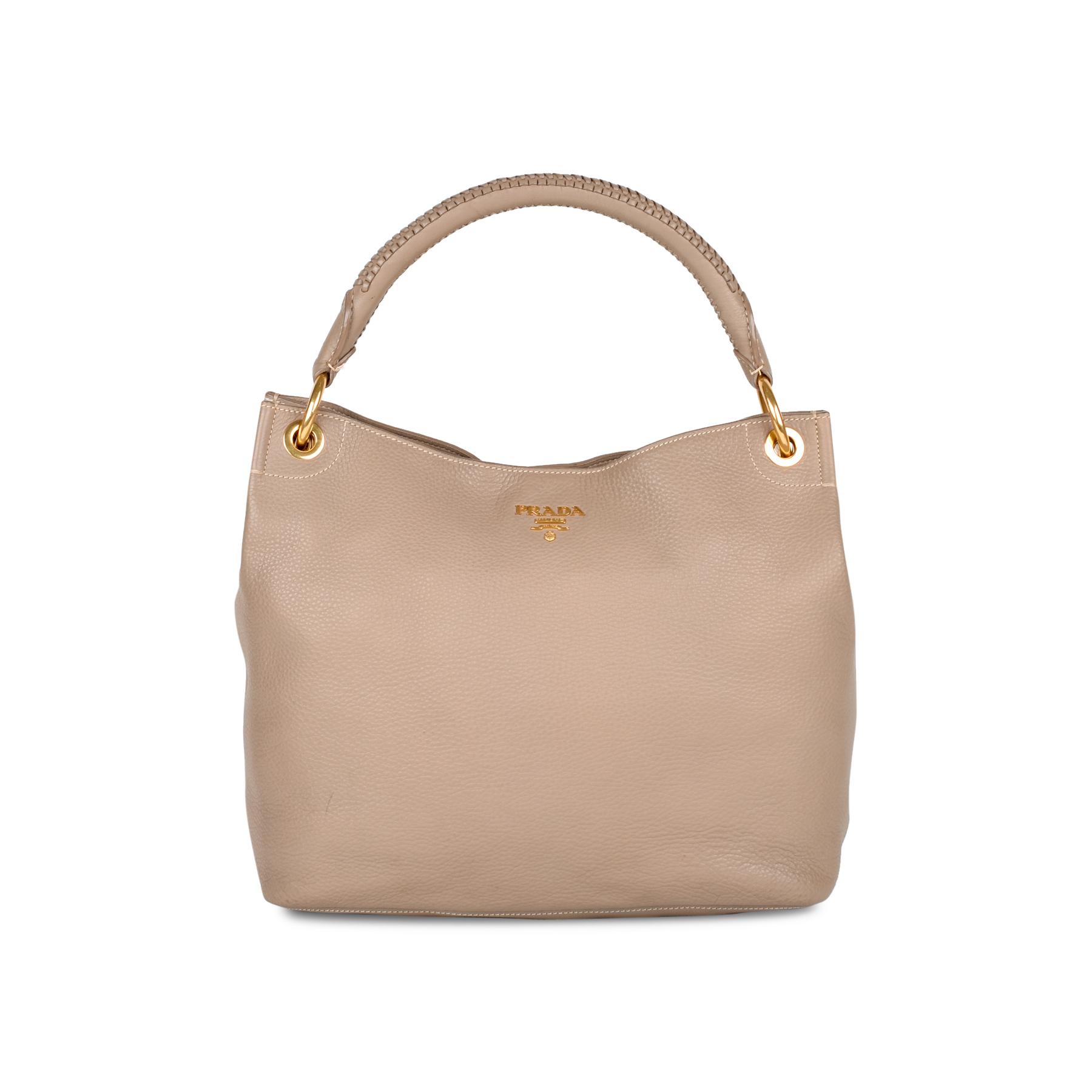0a29a06fa4c4 Authentic Second Hand Prada Vitello Daino Hobo Bag (PSS-434-00003)   THE  FIFTH COLLECTION