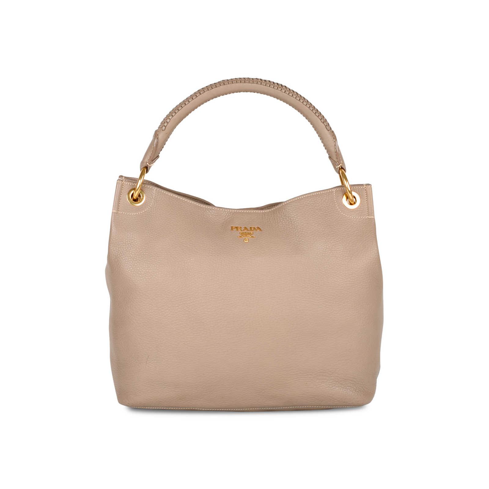 08fc8a4e72b Authentic Second Hand Prada Vitello Daino Hobo Bag (PSS-434-00003 ...