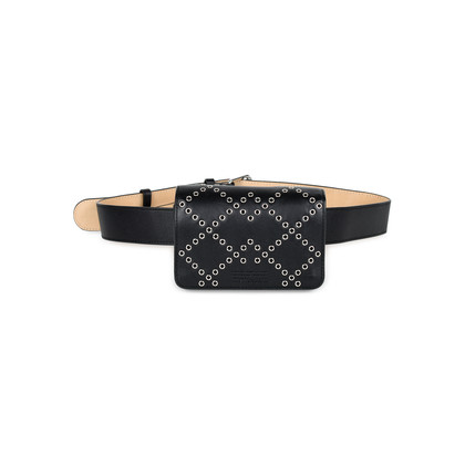 Authentic Pre Owned Marc by Marc Jacobs Quintana Cris Eyelet Belt Bag (PSS-449-00006)