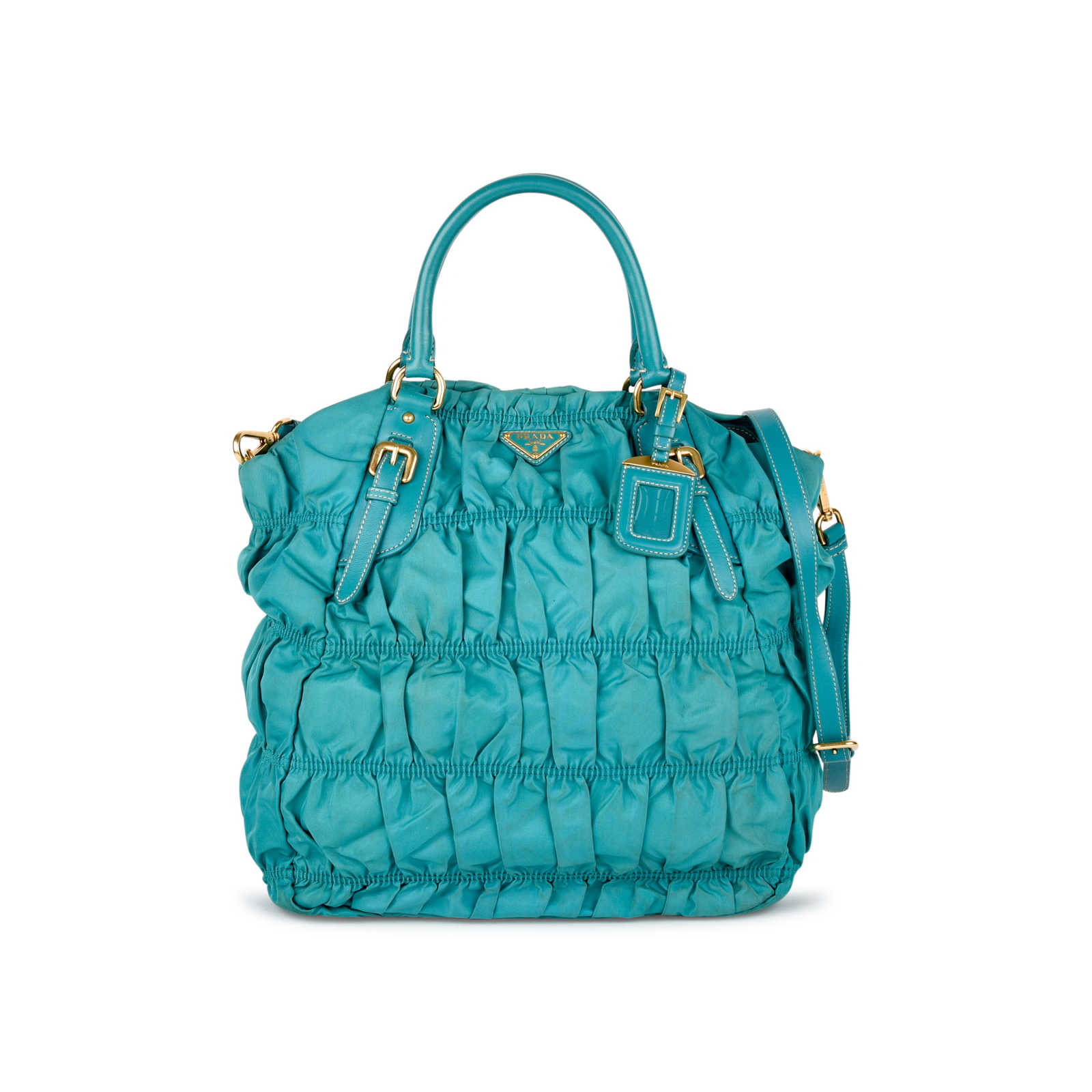 579201f5591bd8 Authentic Second Hand Prada Tessuto Gaufre Tote Bag (PSS-434-00002) ...