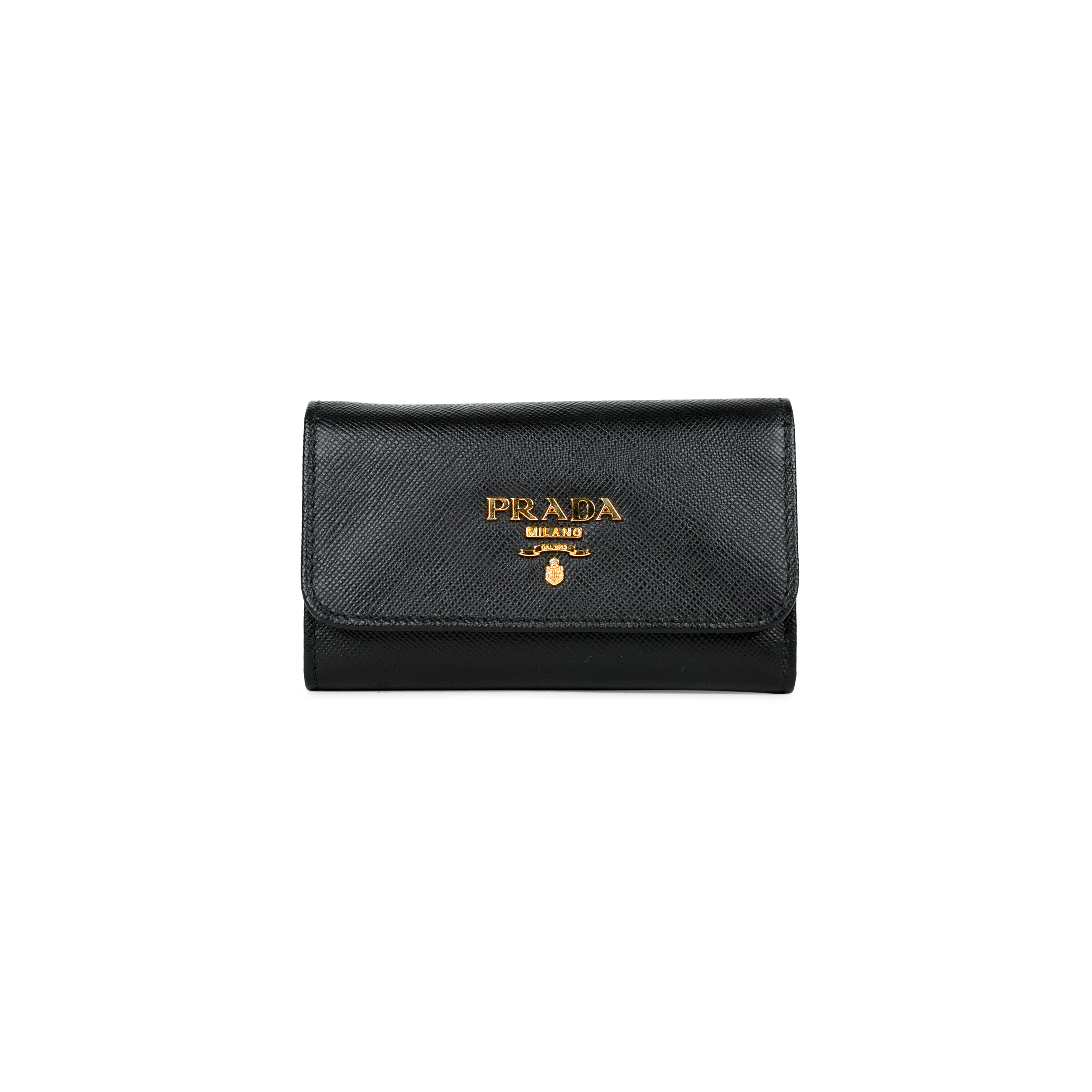 c96e6b5e6272 ... usa authentic pre owned prada saffiano 6 key holder pss 449 00005 the  fifth collection ee094