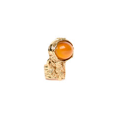 Yves saint laurent arty glass ring 2?1520229277