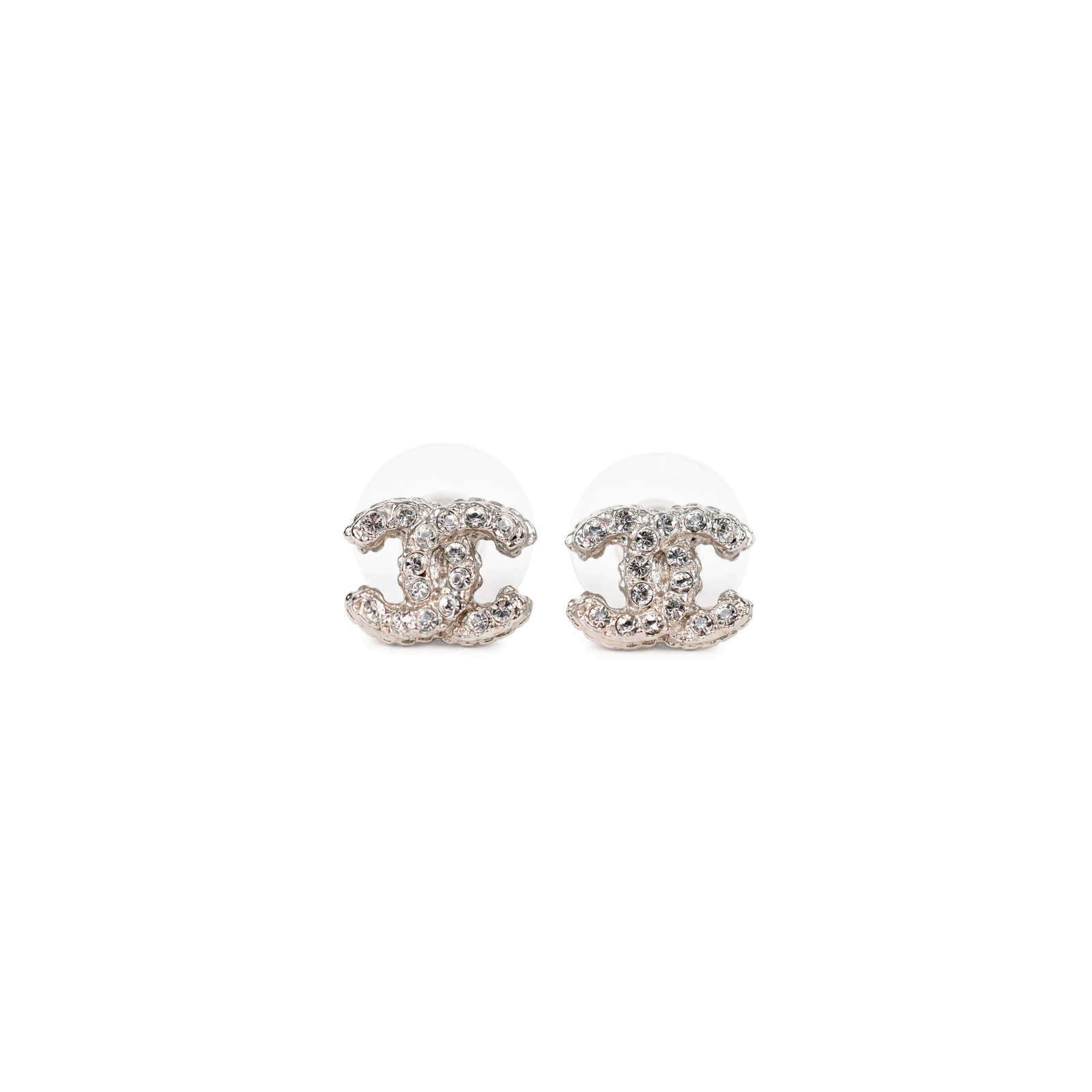 Authentic Pre Owned Chanel Logo Stud Earrings Pss 214 00037 Thumbnail