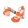 Authentic Second Hand Mulberry Floral Block Heels (PSS-435-00014) - Thumbnail 1
