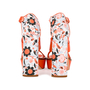 Authentic Second Hand Mulberry Floral Block Heels (PSS-435-00014) - Thumbnail 4