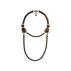 Lanvin collier deux rangs necklace 11?1520308211