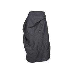 Belted Waist Skirt