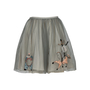 Authentic Second Hand RED Valentino Embroidered Tulle Skirt (PSS-387-00043) - Thumbnail 1
