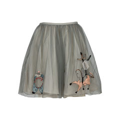 Red valentino embroidered tulle skirt 2?1520408197