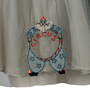 Authentic Second Hand RED Valentino Embroidered Tulle Skirt (PSS-387-00043) - Thumbnail 2