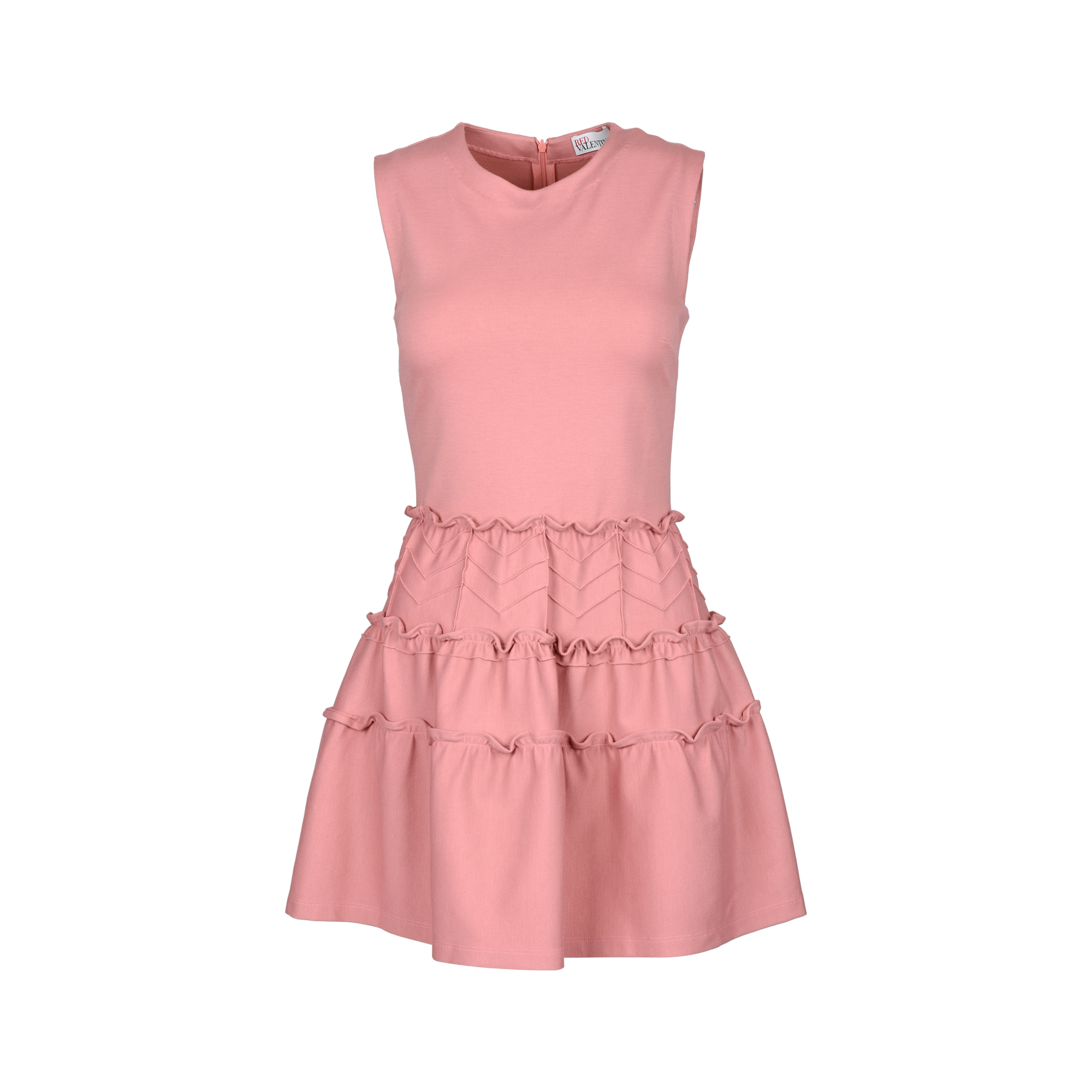 bdc6ca65f97 Authentic Second Hand RED Valentino Ruffled Tier Dress (PSS-387-00045)