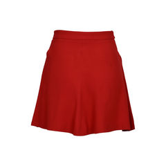 Red valentino a line skirt red 2?1520408363