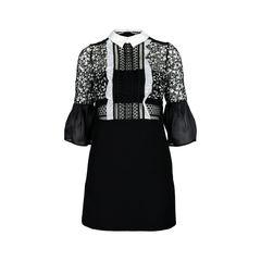Bell-Sleeved Dress