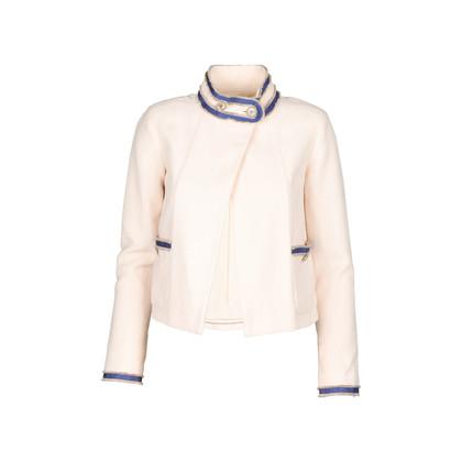 Chanel Cream Boucle Jacket