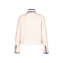 Authentic Pre Owned Chanel Cream Boucle Jacket (PSS-143-00117) - Thumbnail 1
