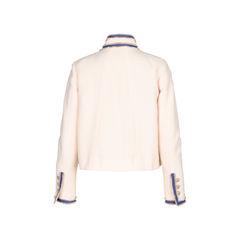 Chanel cream boucle jacket 2?1520825295