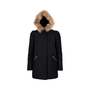Authentic Second Hand Maje Faux Hur Hood Jacket (PSS-190-00050) - Thumbnail 1