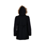 Authentic Second Hand Maje Faux Hur Hood Jacket (PSS-190-00050) - Thumbnail 3