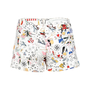 Authentic Pre Owned Gucci Printed Denim Shorts (PSS-228-00037) - Thumbnail 1
