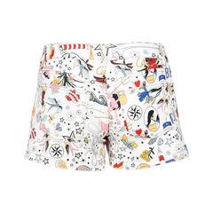 Gucci printed demin shorts 2?1520835498