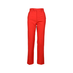 Wool and Silk-Blend Crepe Pants