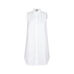 Cotton Tunic Shirt Dress