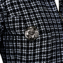 Authentic Second Hand Chanel Zipper Tweed Jacket (PSS-200-01170) - Thumbnail 2