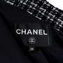 Authentic Second Hand Chanel Zipper Tweed Jacket (PSS-200-01170) - Thumbnail 3