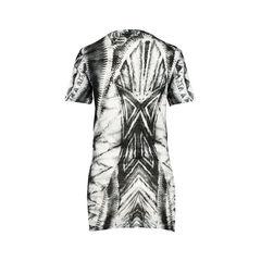 Balmain grey abstract printed t shirt 2?1520922971