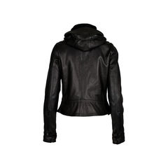 Y 3 hooded leather biker jacket 2?1520922929
