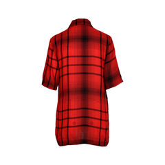 Mcq alexander mcqueen red plaid button top 2?1520923115