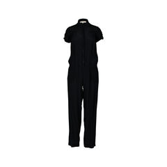 Button Shirt Jumpsuit