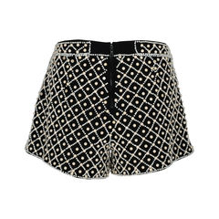 Alice olivia embellished woven shorts 2?1520926368
