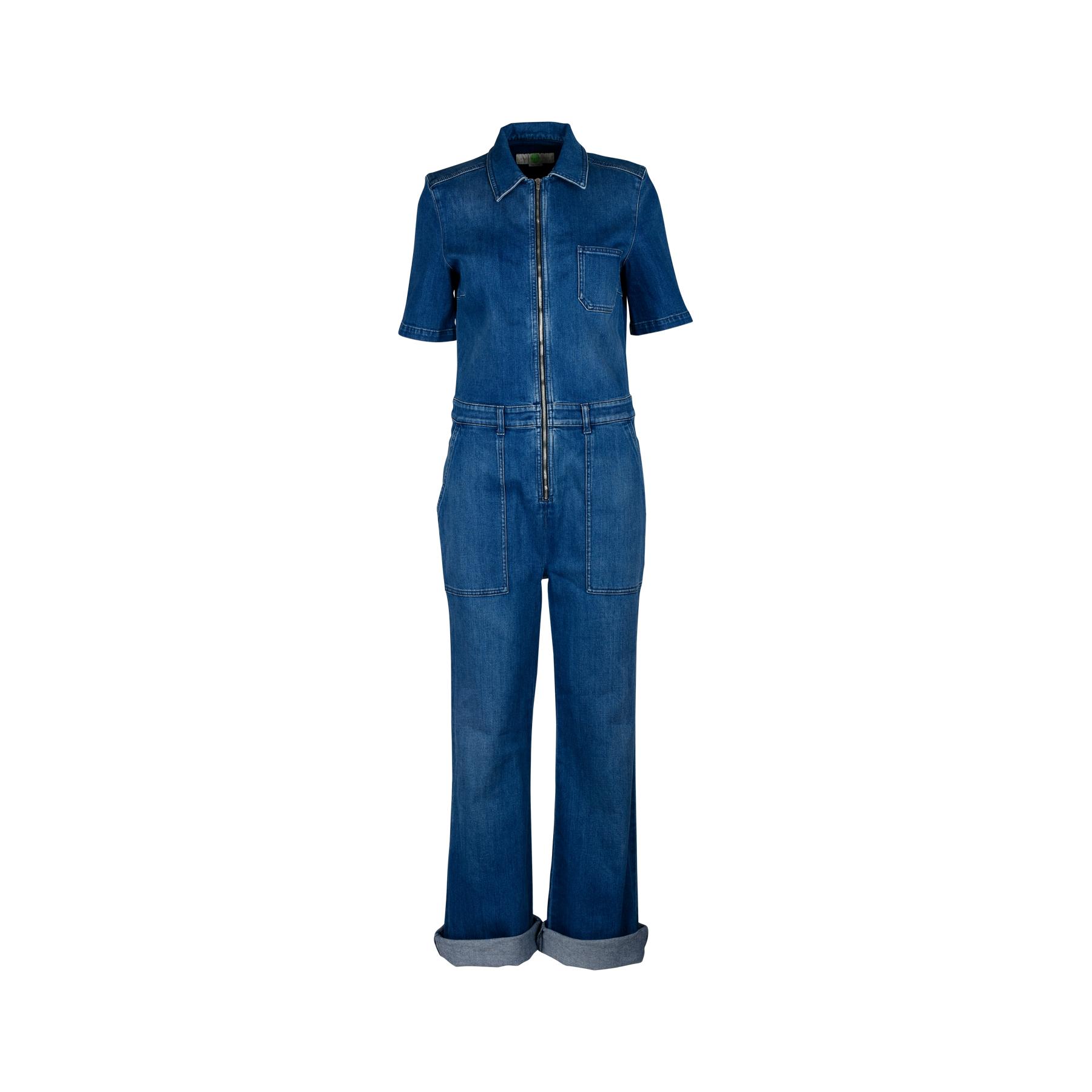 8e87e8e9bf5c Authentic Second Hand Stella McCartney Denim Jumpsuit (PSS-200-01216 ...