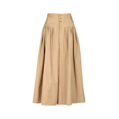 High Rise Pleated Culottes