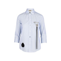 Shirt With Embellished Pocket