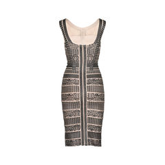 Herve leger lace patterned bandage dress 2?1521003553
