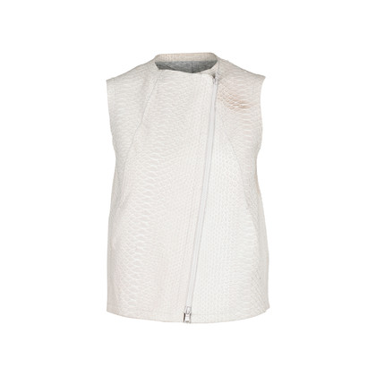 Authentic Second Hand Brunello Cucinelli Python Moto Vest (PSS-074-00090)