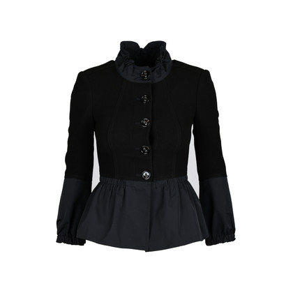 Authentic Second Hand Burberry Peplum Jacket (PSS-074-00099)