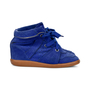 Authentic Second Hand Isabel Marant Bobby Wedge Sneakers (PSS-190-00051) - Thumbnail 3