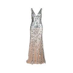 Giselle Degrade Sequinned Gown