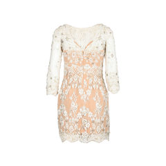 Zuhair murad natural beaded lace cocktail dress 2?1521176261