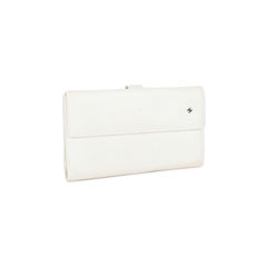 Chanel rectangle white wallet 2?1521180758