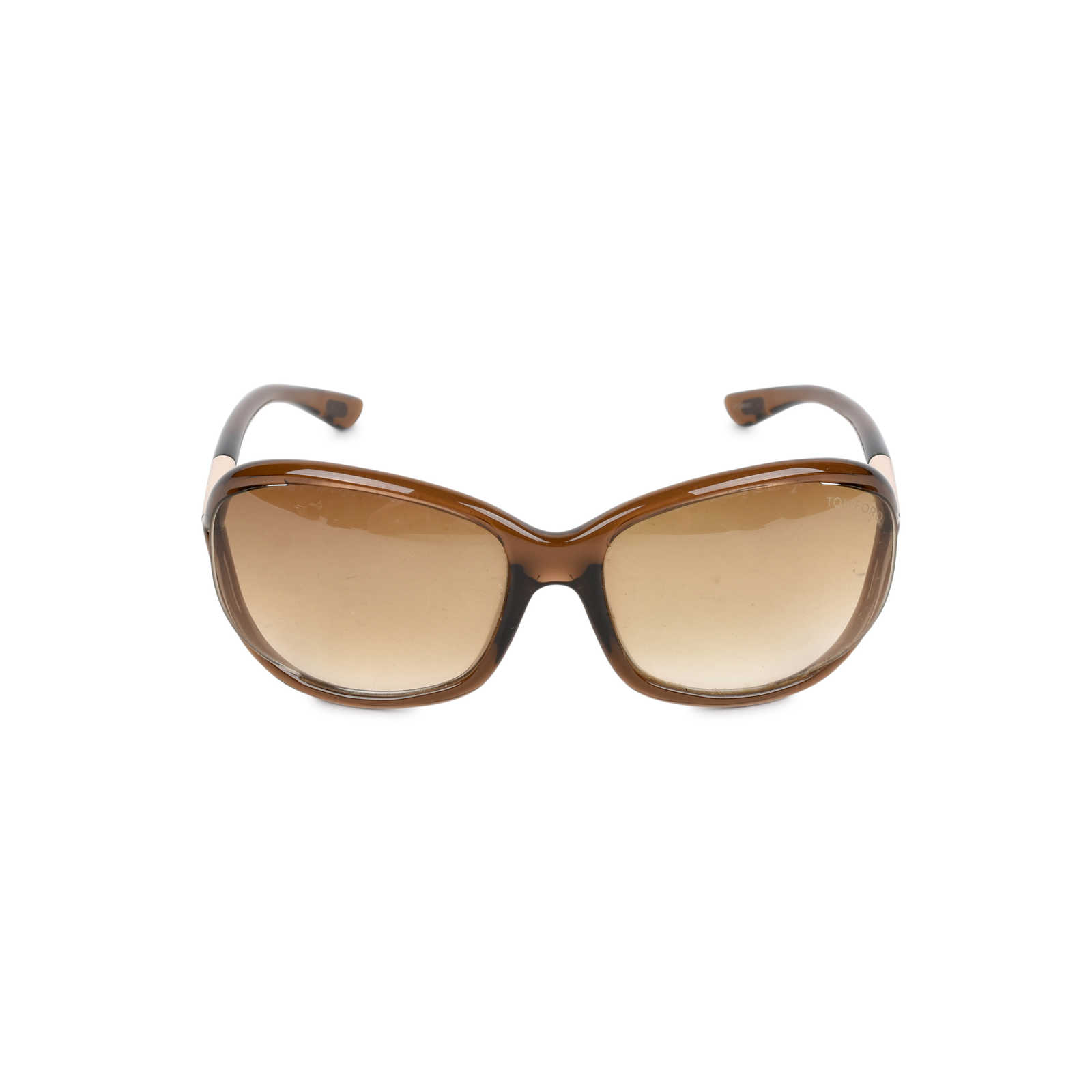 8108b2a4323f Authentic Second Hand Tom Ford Jennifer Brown Sunglasses (PSS-348-00017) ...