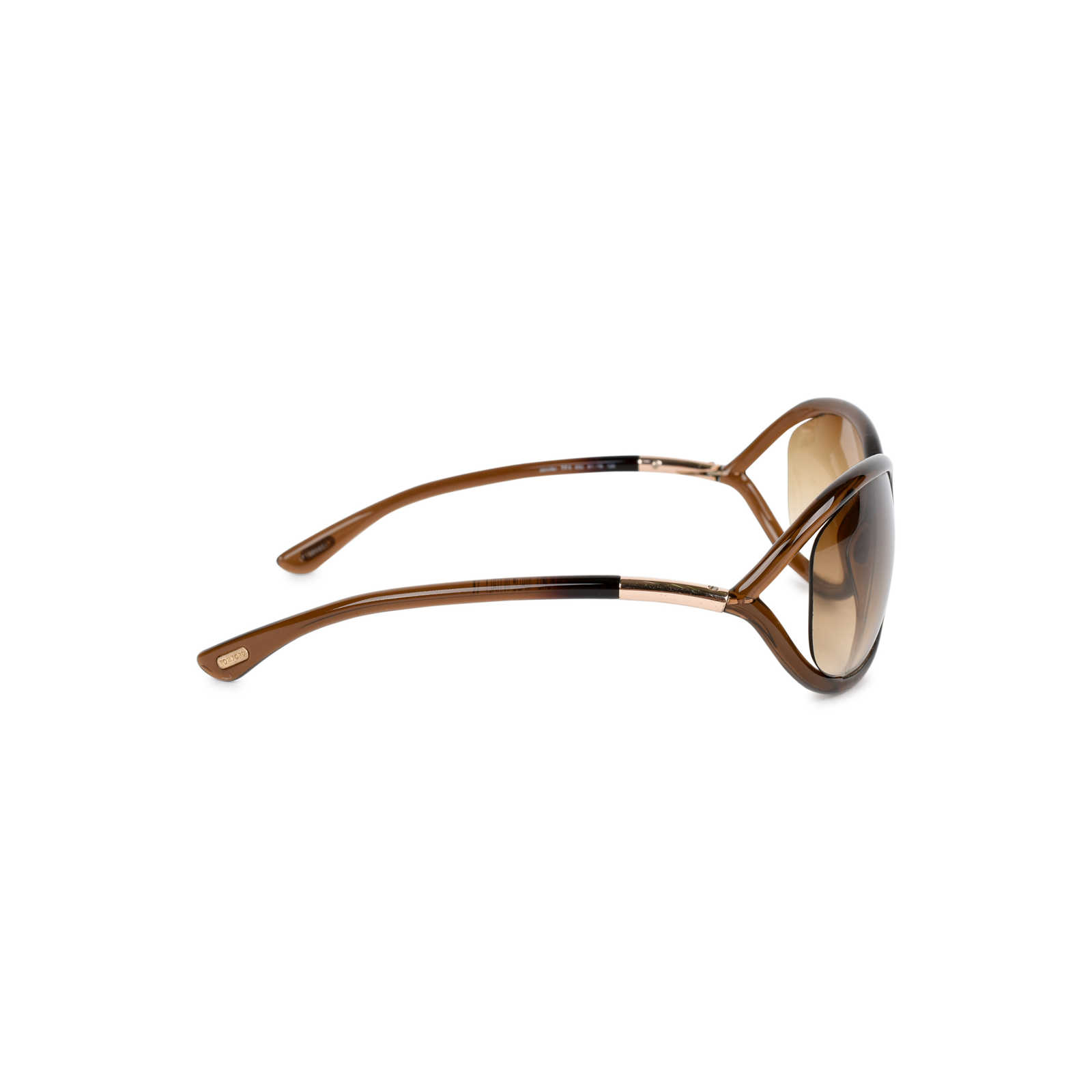 e39ea183569d ... Authentic Second Hand Tom Ford Jennifer Brown Sunglasses  (PSS-348-00017) ...